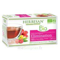 Herbesan Hibiscus Bio Tisane élimination 20 Sachets à RUMILLY