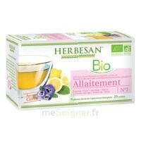 Herbesan Infusion Bio Tisane allaitement 20 Sachets à RUMILLY