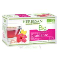 Herbesan Infusion Bio Tisane drainante 20 Sachets à RUMILLY
