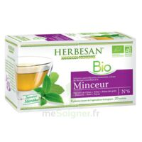 Herbesan Infusion Bio Tisane minceur 20 Sachets à RUMILLY