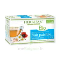 Herbesan Infusion Bio Tisane Relaxation Détente 20 Sachets à RUMILLY