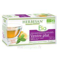 Herbesan Infusion Bio Tisane ventre plat 20 Sachets à RUMILLY