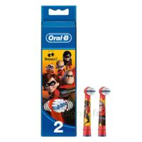 Oral B Incredibles 2 Brossette kids Blister/2 à RUMILLY