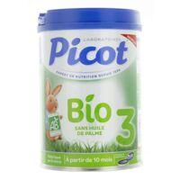 Picot Bio 3 Lait en poudre 800g à RUMILLY
