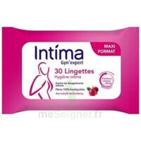 Intima Gyn'Expert Lingettes Cranberry Paquet/30 à RUMILLY