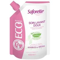 Saforelle Solution Soin Lavant Doux Eco-recharge/400ml à RUMILLY