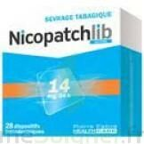 NICOPATCHLIB 14 mg/24 h Dispositifs transdermiques B/28 à RUMILLY