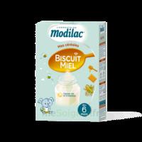 Modilac Céréales Farine Biscuit miel à partir de 6 mois B/300g à RUMILLY