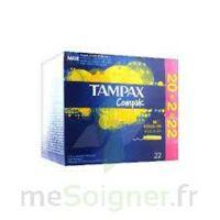 Tampax Compak - Tampon Régulier à RUMILLY