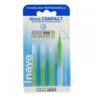 Inava Mono Compact Brossette Extra-large Vert Blister/4 à RUMILLY