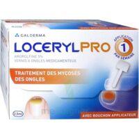 LOCERYLPRO 5 % V ongles médicamenteux Fl/2,5ml+spatule+30 limes+lingettes à RUMILLY