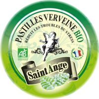 Saint-Ange Bio Pastilles Verveine Boite métal/50g à RUMILLY