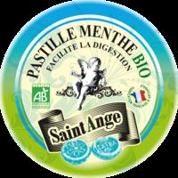 Saint-Ange Bio Pastilles Menthe Boite métal/50g à RUMILLY