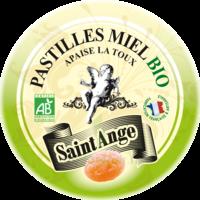 Saint-Ange Bio Pastilles Miel Boite métal/50g à RUMILLY