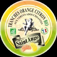 Saint-Ange Bio Pastilles Orange citron Boite métal/50g à RUMILLY