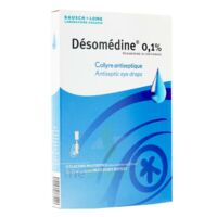 DESOMEDINE 0,1 % Collyre sol 10Fl/0,6ml à RUMILLY