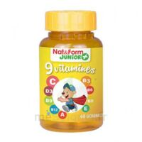 Nat&Form Junior Ours Gomme oursons 9 Vitamines B/60 à RUMILLY
