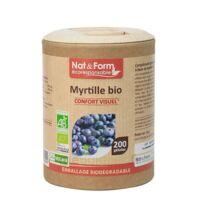 Nat&Form Eco Responsable Myrtille Bio Gélules B/200 à RUMILLY