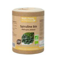 Nat&Form Eco Responsable Spiruline Bio Comprimés B/200 à RUMILLY