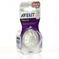 TETINE AVENT NATURAL DEBIT VARIABLE x 2 à RUMILLY