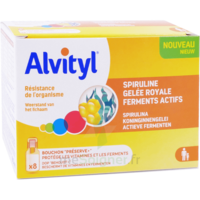 Alvityl Resist Solution buvable 8 Fioles à RUMILLY