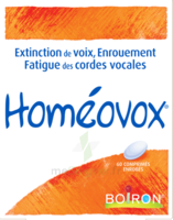 Boiron Homéovox Comprimés à RUMILLY