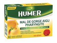 HUMER PHARYNGITE Past mal de gorge baies sauvages à RUMILLY